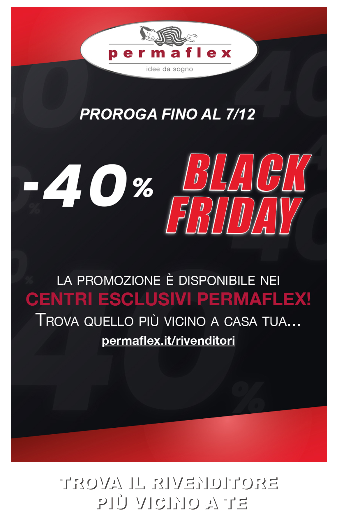Permaflex Promo Black Friday 2019